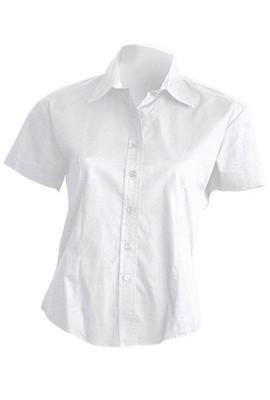 Рубашка женская с коротким рукавом JHK SHLPOPSS цвет цвет белый (WH)