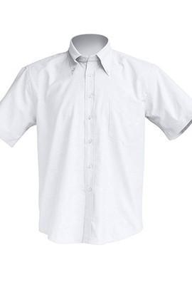 Рубашка мужская с коротким рукавом JHK SHRA SS POP, цвет белый (WH)