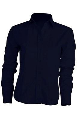 Рубашка женская с длинным рукавом  JHK SHLPOP цвет темно-синий (NY)