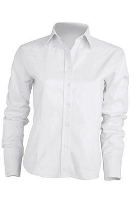 Рубашка женская с длинным рукавом  JHK SHLPOP цвет белый (WH)