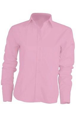 Рубашка женская с длинным рукавом JHK SHLOXF цвет розовый (PK)