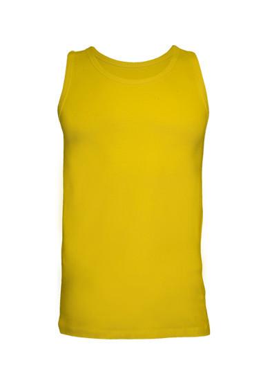 Мужская майка JHK URBAN STRAP цвет желтый (SY)