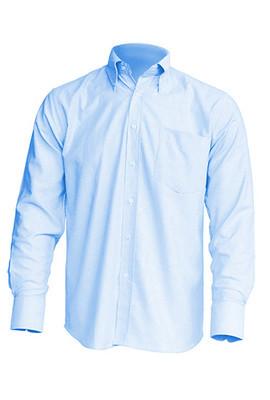 Рубашка мужская с длинным рукавом JHK SHRA OXF LS, цвет голубой (SK)
