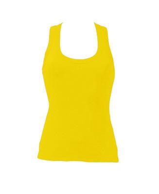 Женская майка JHK ARUBA цвет желтый (SY)