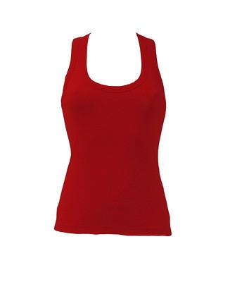 Женская майка JHK ARUBA цвет красный (RD)