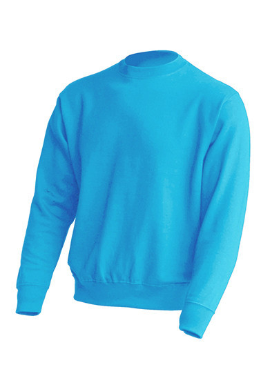 Толстовка унисекс JHK SWEATSHIRT UNISEX цвет голубой (SK)
