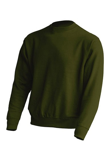 Толстовка унисекс JHK SWEATSHIRT UNISEX цвет темно-зеленый (FG)
