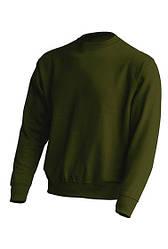 Толстовка унисекс JHK SWRA 290, цвет темно зеленый (FG)