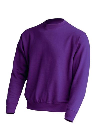 Толстовка унисекс JHK SWEATSHIRT UNISEX цвет фиолетовый (PU)