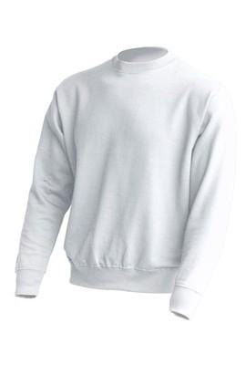 Толстовка унисекс JHK SWEATSHIRT UNISEX цвет белый (WH)
