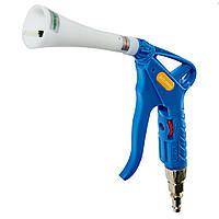 Пистолет торнадо с быстросъемной муфтой синего цвета Dolphin