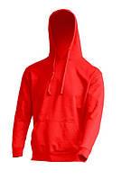 Мужская толстовка с капюшоном JHK SWRA KNG, цвет красный (RD)