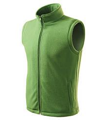 Флисовый жилет ADLER NEXT, цвет зеленая трава (39)