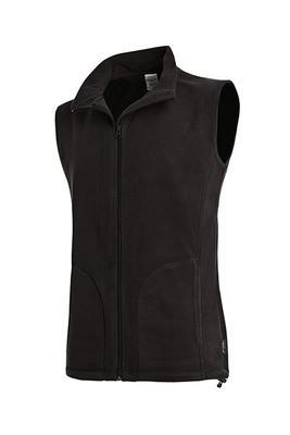 Флисовый жилет Stedman ST5010 Active Fleece Vest, цвет черный (BLO)