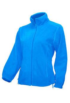 Жіноча флісова куртка JHK POLAR FLEECE LADY колір синій (AQ)