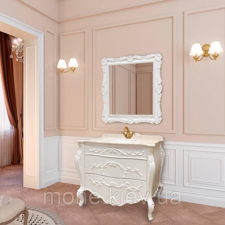 "Комплект мебели в ванную комнату ""Фелиция"" (тумба+раковина+столешница + зеркало + пенал)"