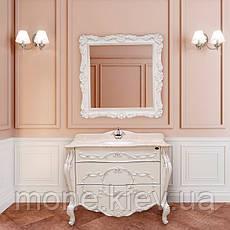 """Комплект мебели в ванную комнату """"Фелиция"""" (тумба+раковина+столешница + зеркало + пенал), фото 2"""