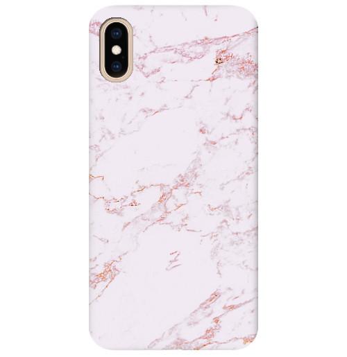 Чехол для iPhone Pink Marble