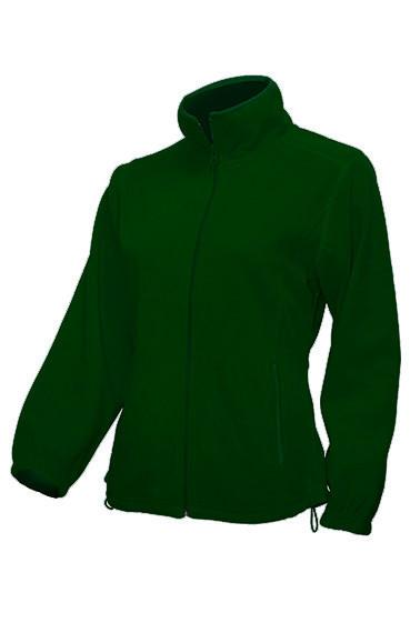 Женская флисовая куртка JHK POLAR FLEECE LADY цвет темно-зеленый (BG)