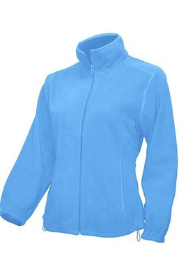 Женская флисовая куртка JHK POLAR FLEECE LADY цвет голубой (SK)