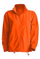 Мужская флисовая куртка JHK FLRA 300, цвет оранжевый (OR)