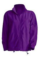 Мужская флисовая куртка JHK FLRA 300, цвет фиолетовый (PU)