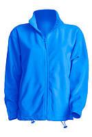 Мужская флисовая куртка JHK FLRA 300, цвет світло синій (AQ)