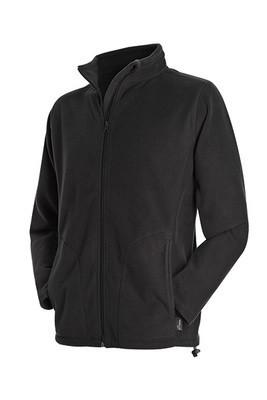 Мужская флисовая куртка Stedman ST5030 Active Fleece Jacket цвет черный (BLO)