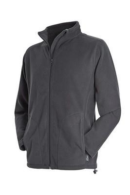 Мужская флисовая куртка Stedman ST5030 Active Fleece Jacket цвет серый (GRS)