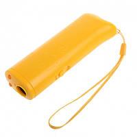 ✅ Отпугиватель для собак, Ultrasonic, AD-100, Желтый.эффективная, защита от собак