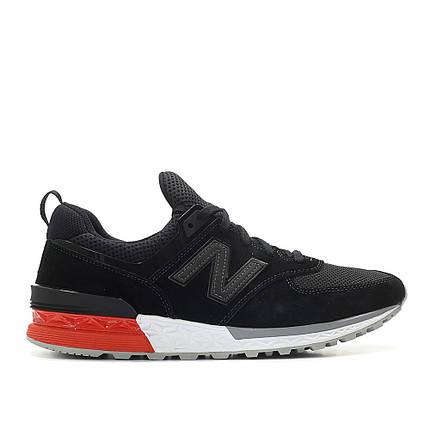 Мужские кроссовки NEW BALANCE MS574AB Black Черные, фото 2