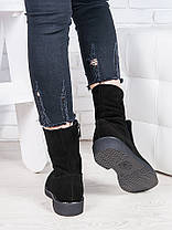 Ботинки замшевые Олимпия 6845-28, фото 3