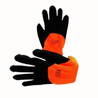 Перчатки защитные, вспененный латекс, утеплённые, зимние, № 8, уп. — 12 пар, фото 2