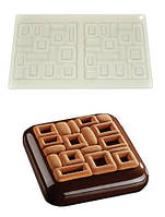 Силиконовая форма для декора евродесертов Maya