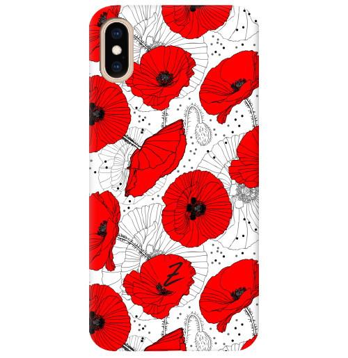 Чехол для iPhone Red Flower