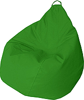 Кресло груша Кожзаменитель Практик Зеленый, фото 1
