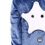 Удобный велюровый спортивный костюм  для мальчика 86-128р, фото 3