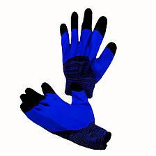 Перчатки рабочие Дермагрип, вспененный латексный облив, уп. — 12 пар, фото 2