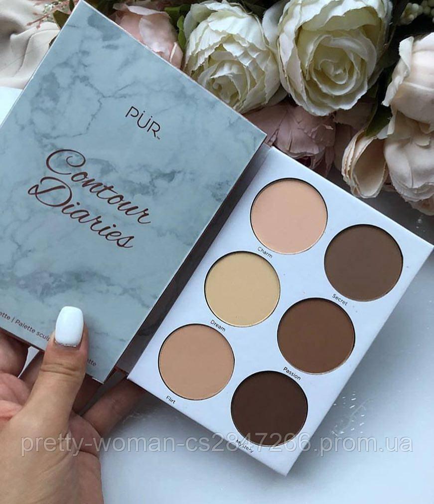 Корректор PUR Cosmetics Contour Diaries Palette  (Реплика)