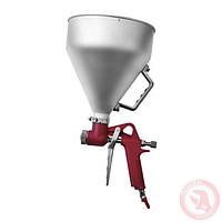 ✴️ Штукатурный распылитель, три форсунки 4;6;8 мм, В/Б металлический, 6000 мл, 3-6 b INTERTOOL PT-0401