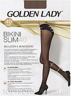 Утягивающие колготки с массажные эффектом GOLDEN LADY Bikini Slim 40