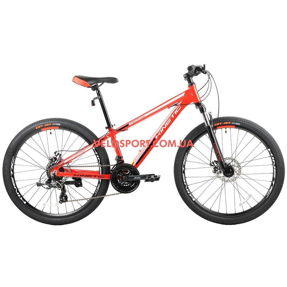 """Горный велосипед Kinetic Profi 26 дюймов 13,5"""" красный"""