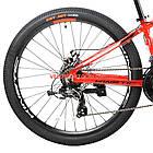 """Горный велосипед Kinetic Profi 26 дюймов 13,5"""" красный, фото 6"""
