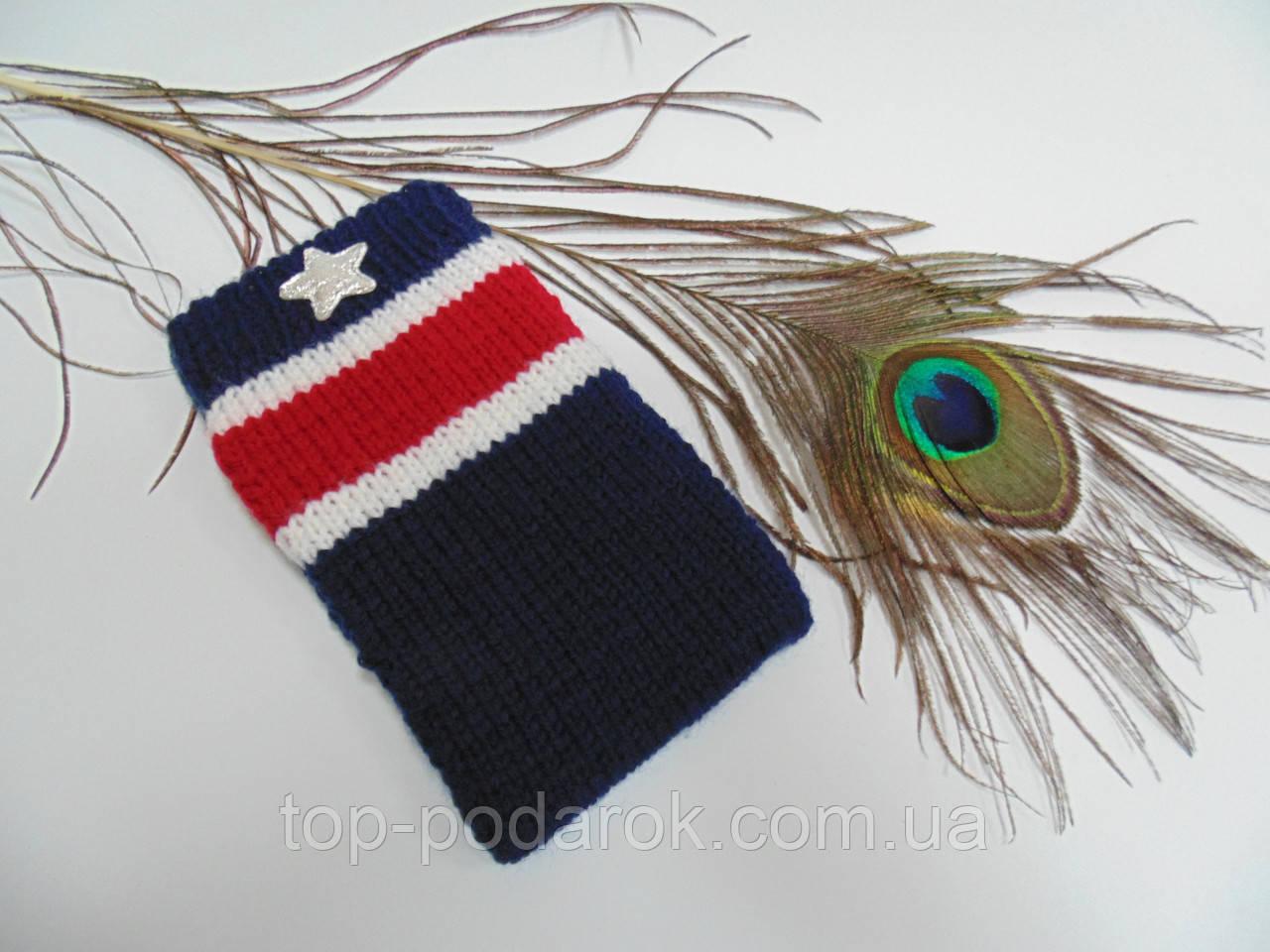 Вязанный чехол для iPhone,чехол для смартфона