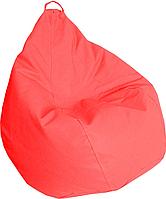 Кресло груша Кожзаменитель Практик Красный, фото 1