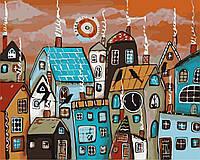 Картина по номерам Сказочный городок (40 х 50 см, в коробке)