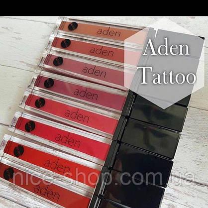 Матовая помада Aden Tattoo Effect  Lipstick №01, фото 3