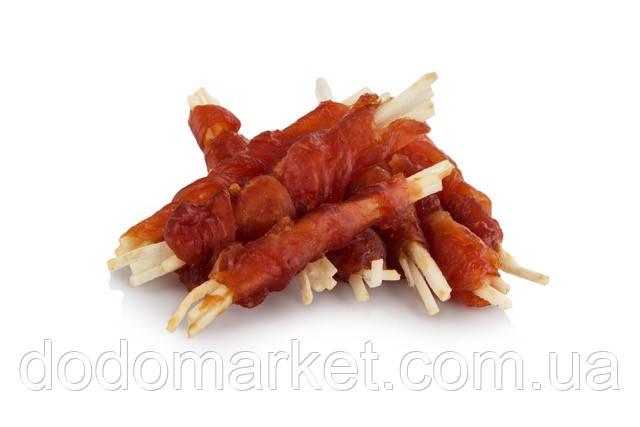 Полоски говядины с курицей лакомство для собак Smaczaki 500 гр