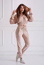 Женский спортивный костюм из бархата №537, фото 2