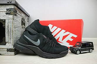 Кроссовки G 5043 -6 (Nike AirMax)  (лето, мужские, текстиль, черный)
